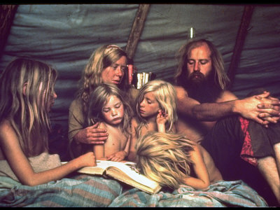 hippie parents