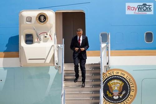 obama arrival