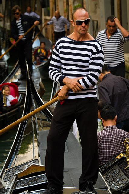 Venice gondolier #3
